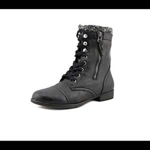 Madden Girl Lace-up Boots